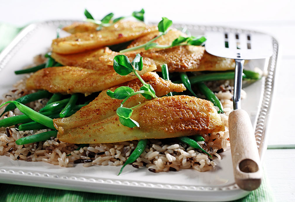 Honey Curry Sole Fillets