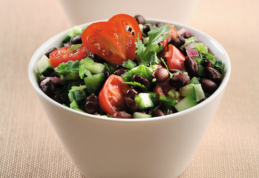 Cucumber And Black Bean Salsa Salad