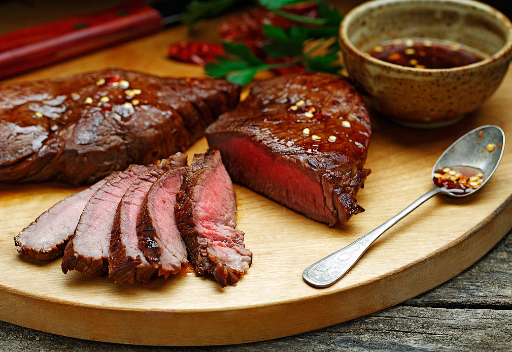 Sweet Balsamic Sirloin Steak