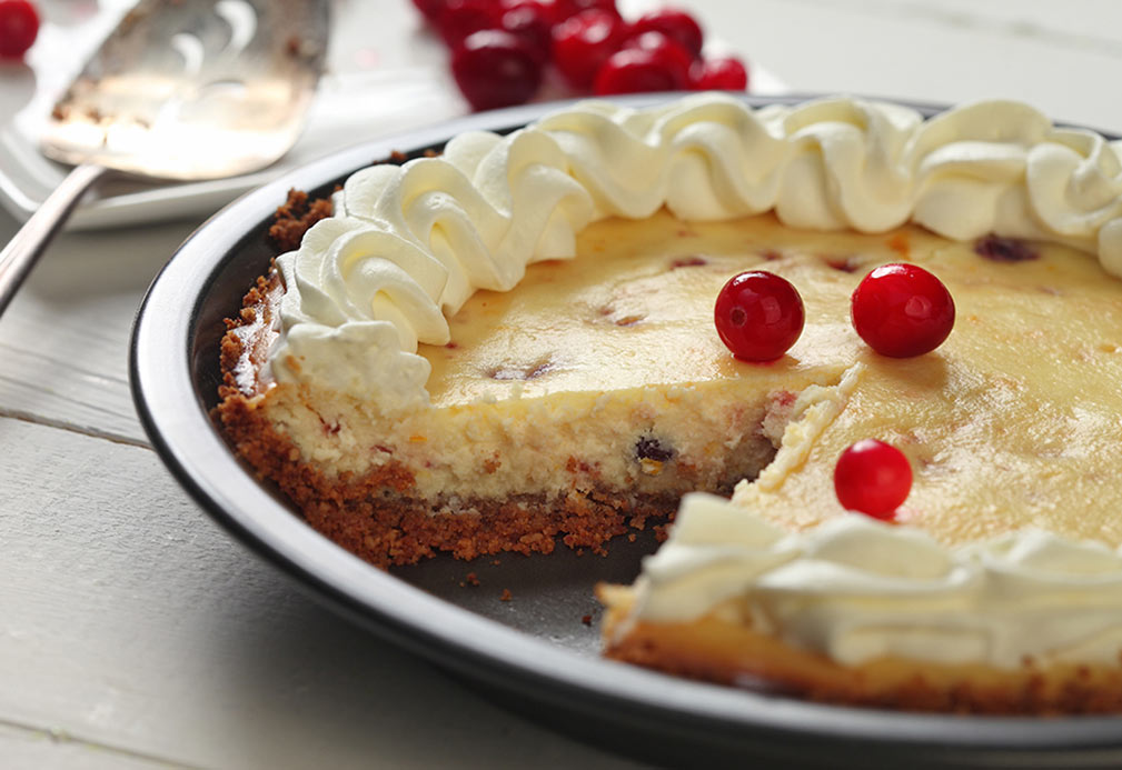 Cranberry Orange Cheese Pie
