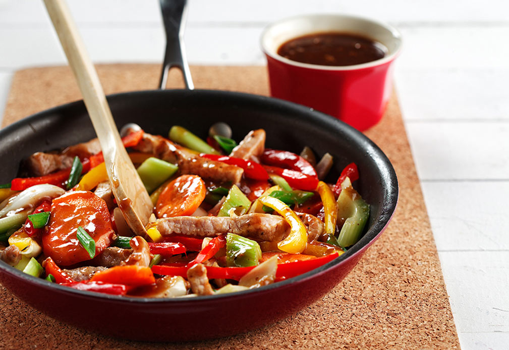 Pork Stir-Fry with Black Bean Sauce