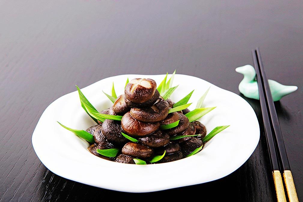 芥花油养生菜谱之鲜韭香菇