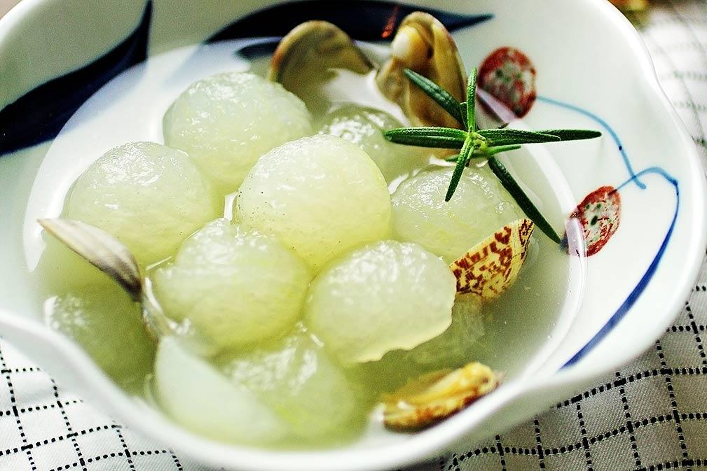 芥花油与白玉冬瓜球的邂逅