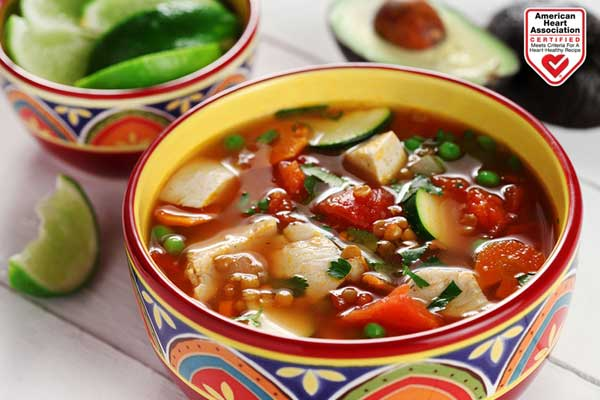 chicken soup Mexicana canola oil American Heart Association