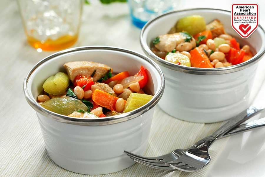 delicious chicken stew with canola oil American Heart Association