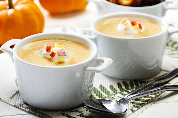 pumpkin harvest Thanksgiving fall recipes made with canola oil