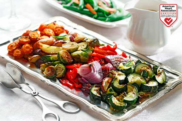 roasted winter veggies vegetables canola oil American Heart Association