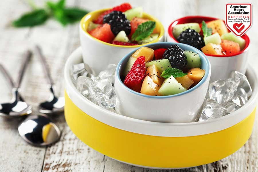 three citrus fruit salad on seasonal fruits fruit salad canola oil American Heart Association