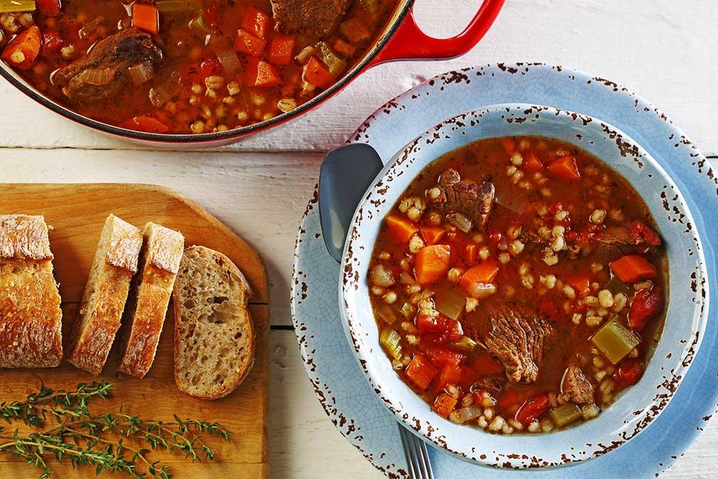 Grandma's Beef Barley Soup
