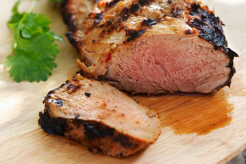 Grilled Lemongrass Pork Tenderloin