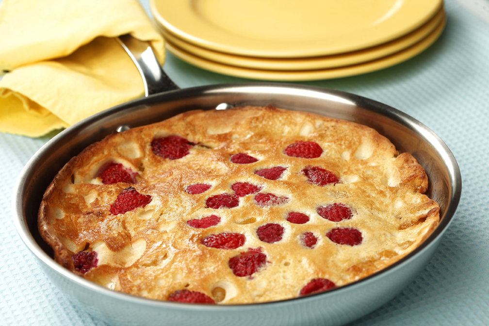 Oven Pancake with Sautéed Fruit & Berries