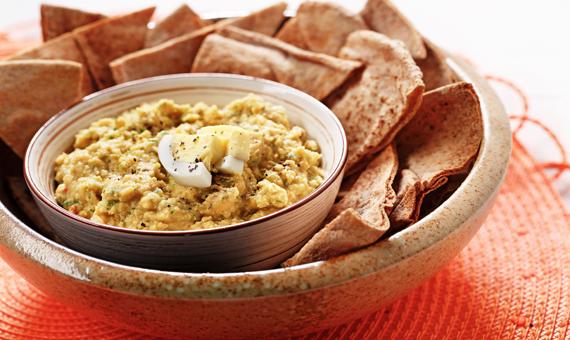 Hummus et son plein de protéines!