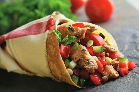 Zesty Chicken Wraps