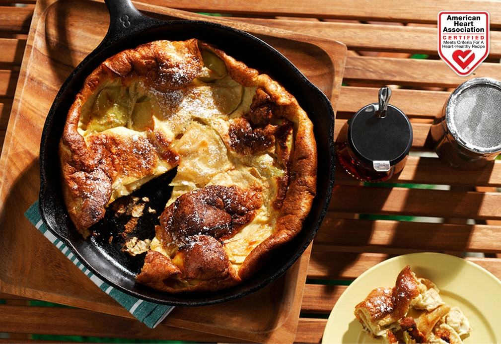 Whole Grain Apple Oven Pancake