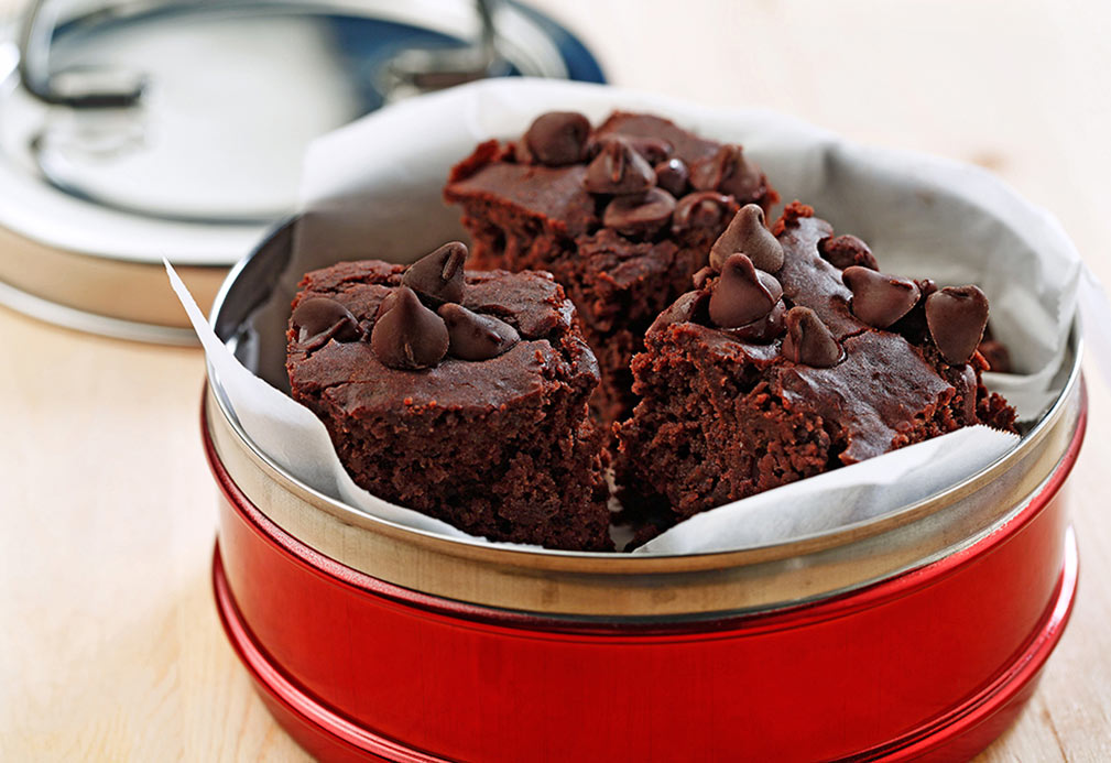 Black Bean Brownies recipe made with canola oil