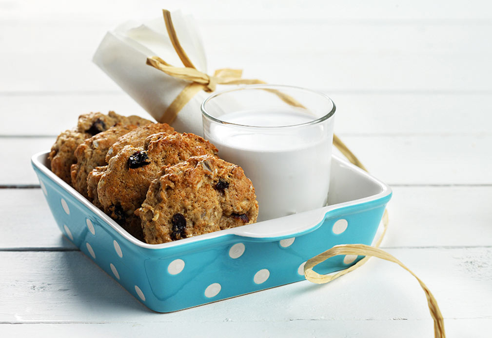 Breakfast On the Go Cookies recipe made with canola oil
