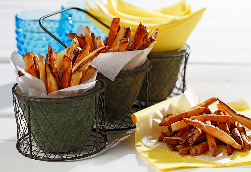 Classic Canola French Fries recipe made with canola oil