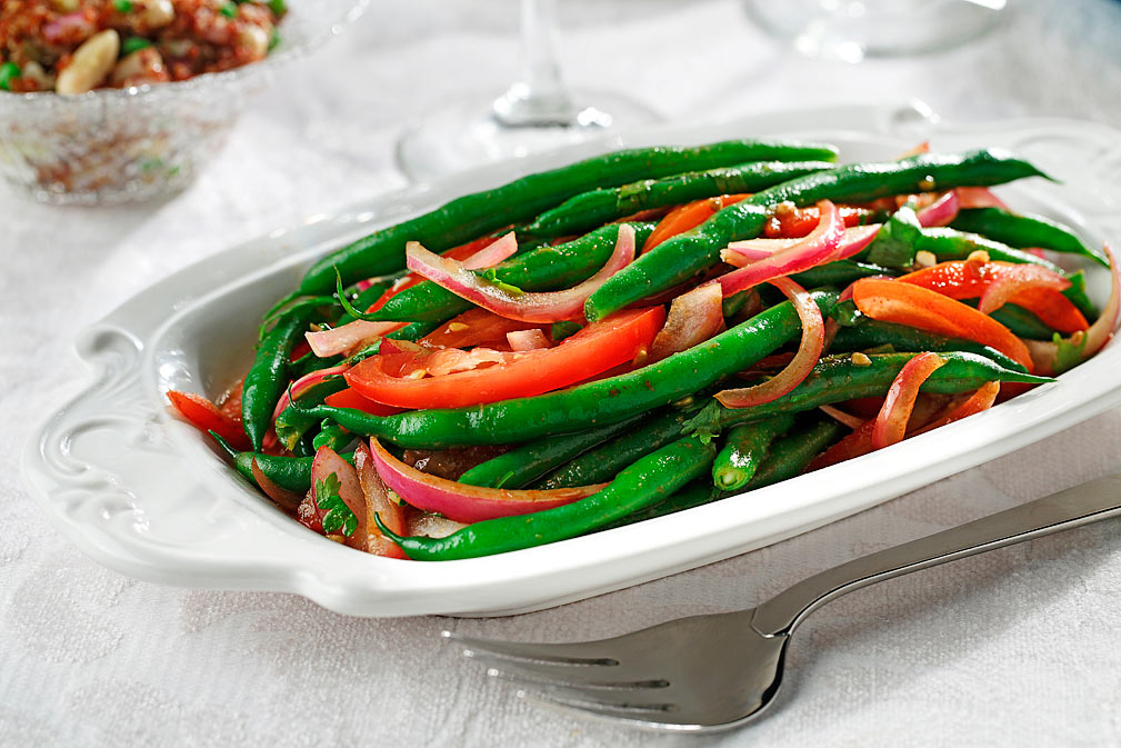 Green Bean Saltado