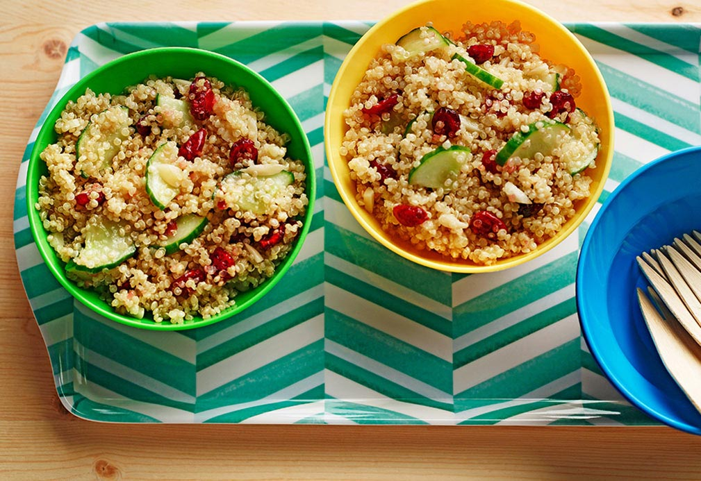 Lemon Cucumber Quinoa
