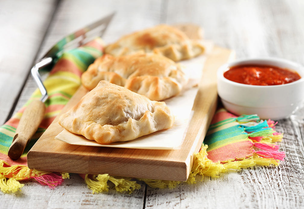 Mini Calzones recipe made with canola oil by Alison Lewis