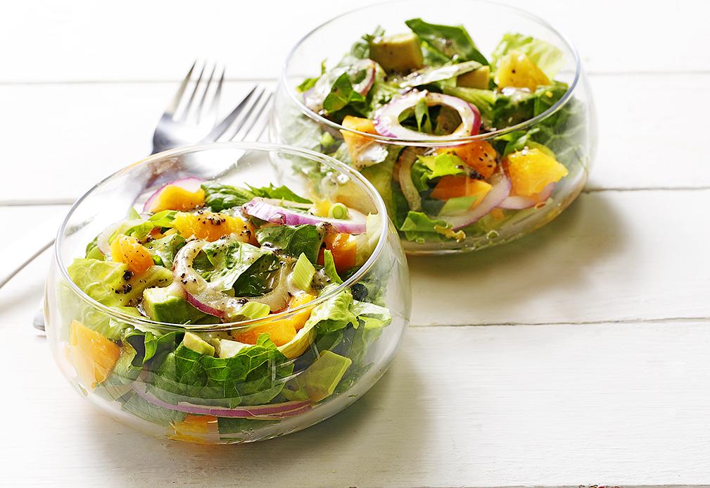 Papaya, Avocado, and Orange Salad recipe made with canola oil by Patricia Chuey