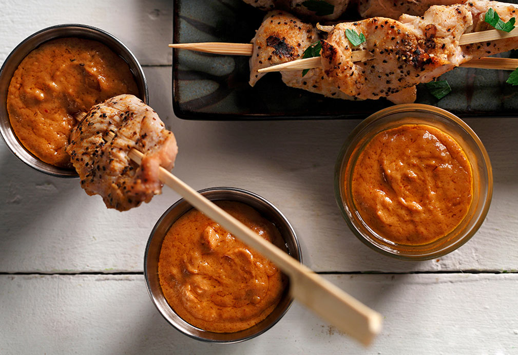 Peanut Satay Sauce recipe made with canola oil by Nathan Fong