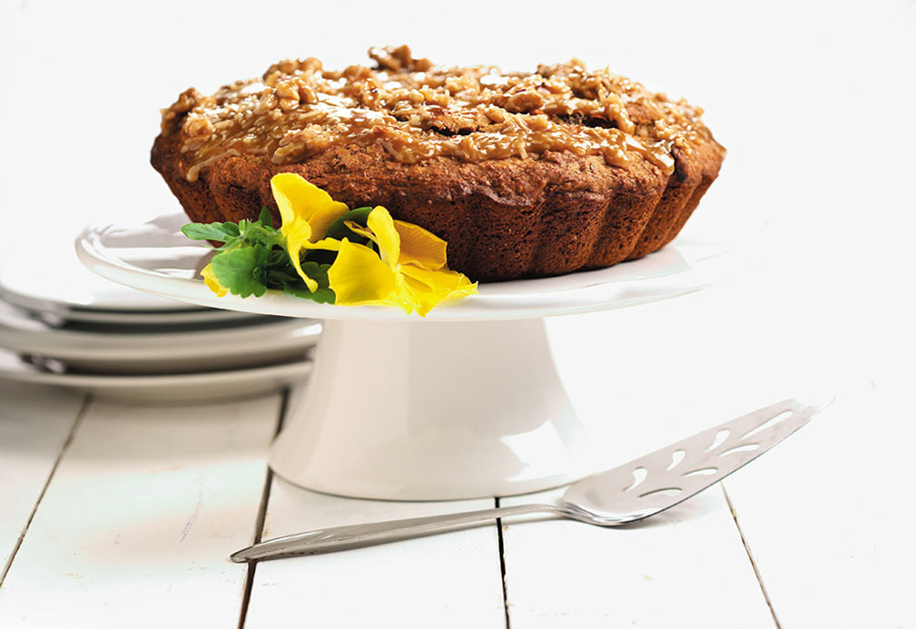 Prairie Spice Cake recipe made with canola oil by Joan Heath