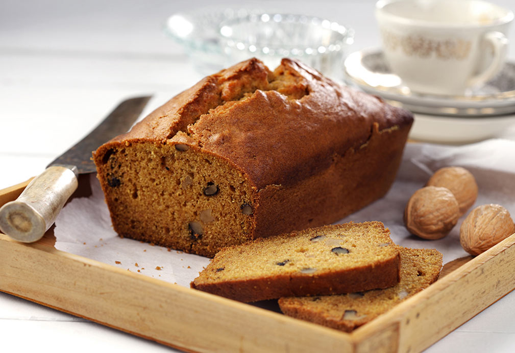 Pumpkin Loaf recipe made with canola oil