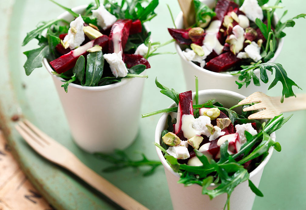 Roasted Beet Salad with Citrus Vinaigrette recipe made with Aaron Crumbaugh