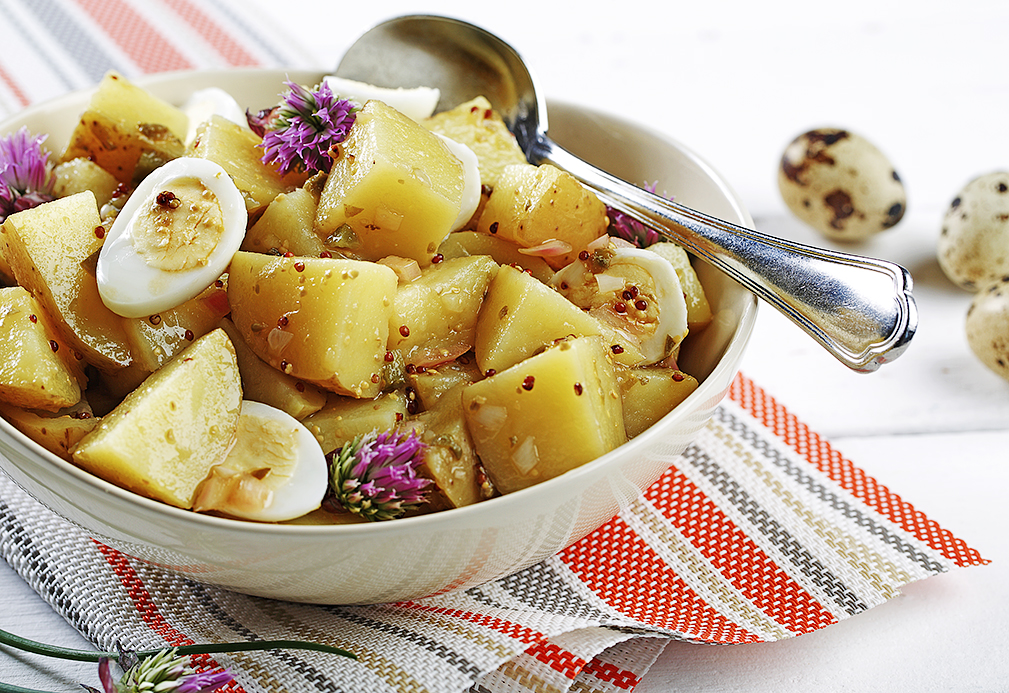 Smoked Yukon Gold Potato Salad