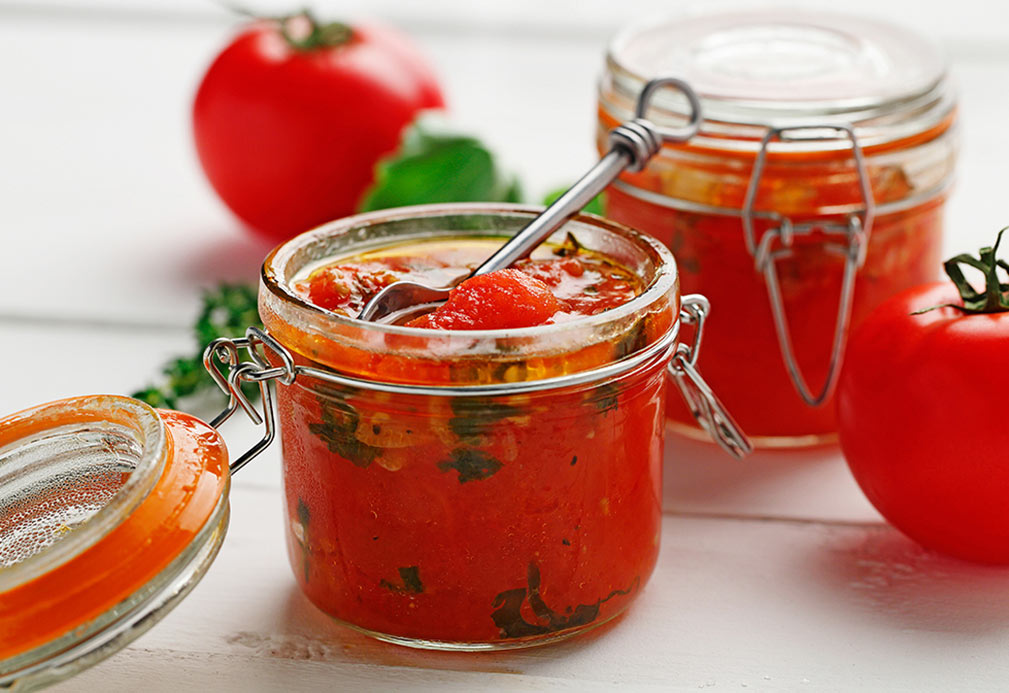Tomato Confit recipe made with canola oil