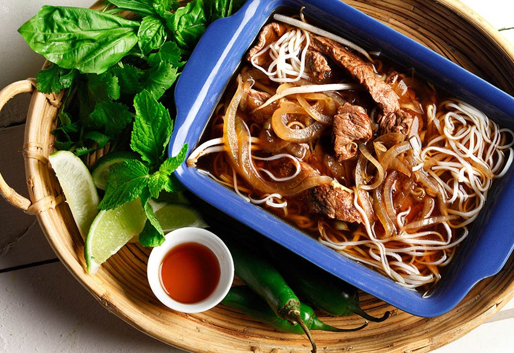 Vietnamese Pho recipe made with canola oil by Patricia Chuey