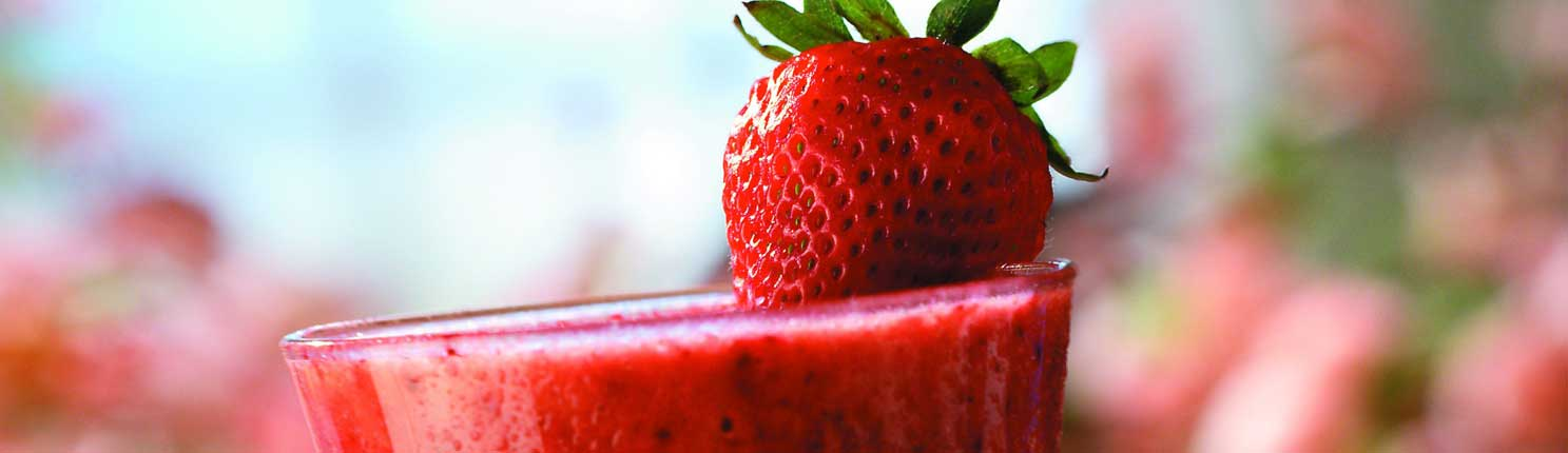 Berry Good Smoothie made with Canola Oil