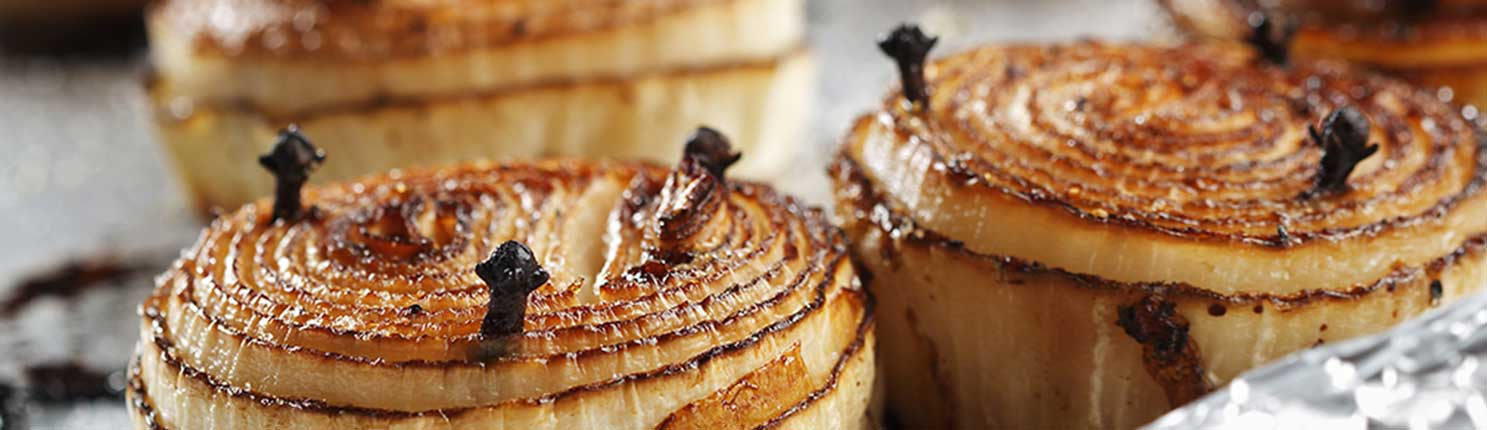 High Roasted Onions made with canola oil