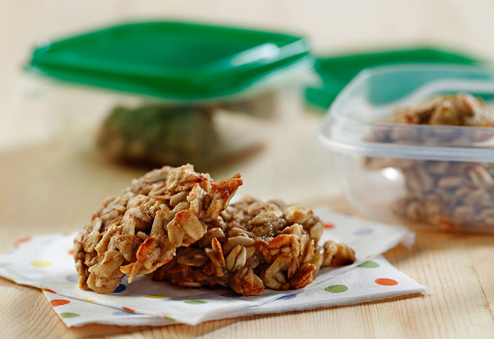 Banana Oatmeal Cookies recipe made with canola oil