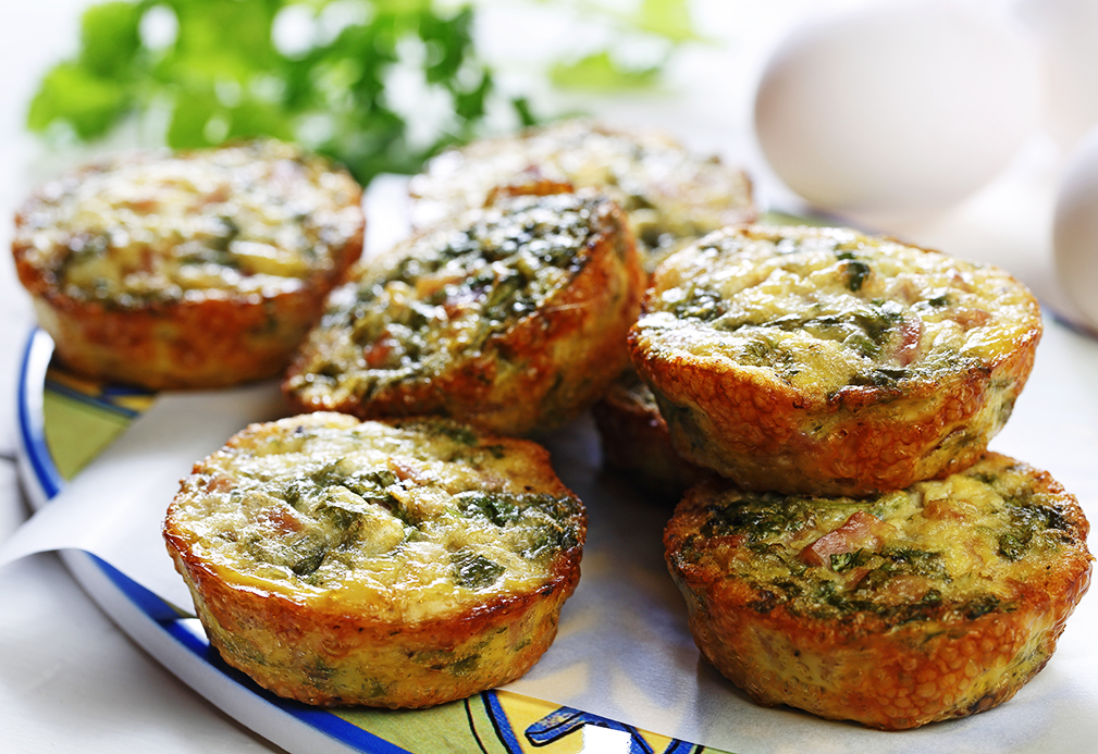 Muffins de pavo y jalapeño