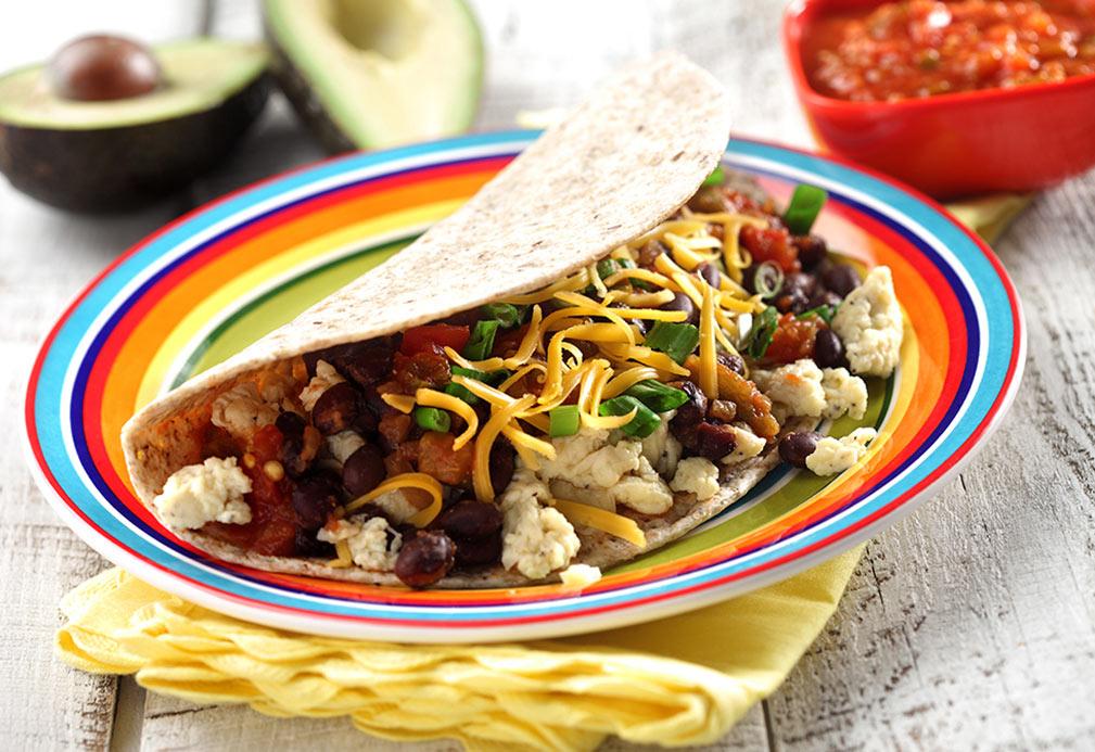 Tacos para el desayuno