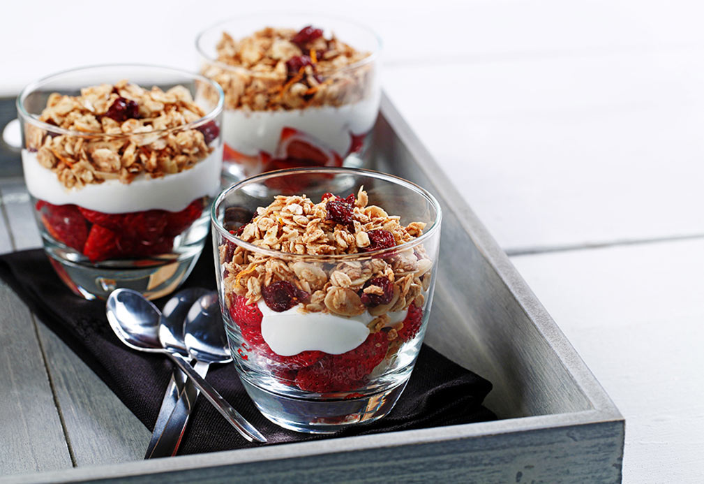 Canola Granola recipe made with canola oil in partnership with the American Diabetes Association