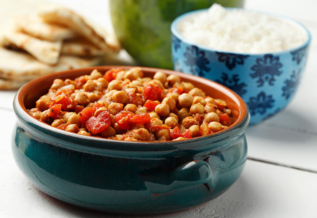 Chana Masala recipe made with canola oil by Julie DesGroseilliers