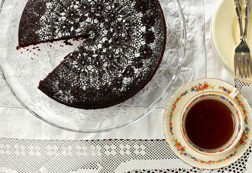 Chocolate War Cake recipe made with canola oil by Ellie Krieger