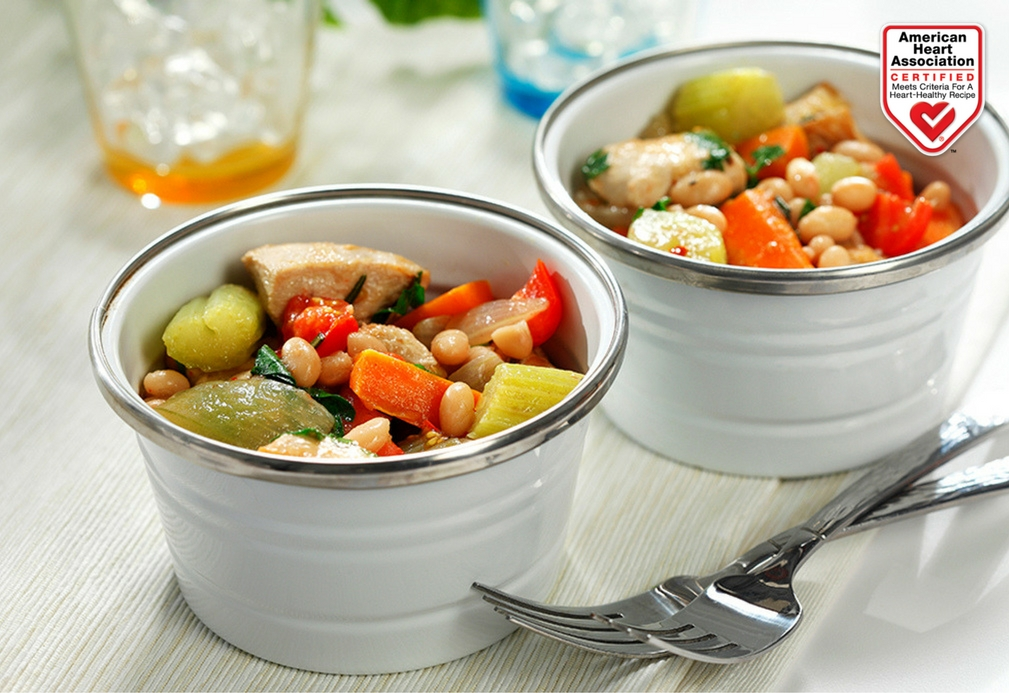 Chunky Chicken, Vegetable and Rosemary Stew recipe made with canola oil by Nancy Hughes