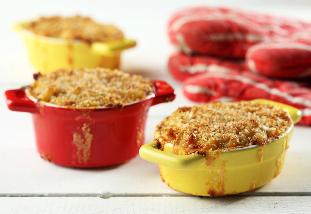 Cremosos macarrones con queso