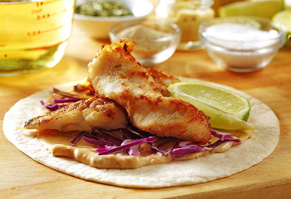 Tacos borrachos de pescado
