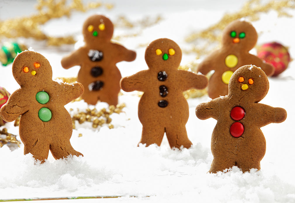 Gingerbread Men recipe made with canola oil by George Geary