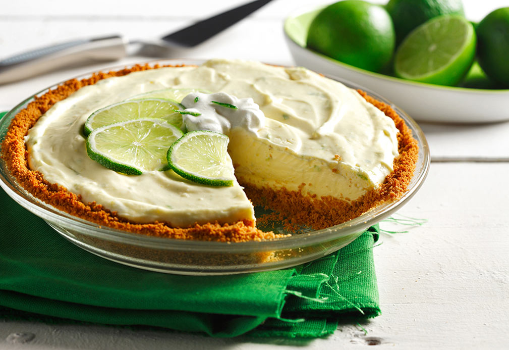 Key Lime Pie recipe made with canola oil by George Geary