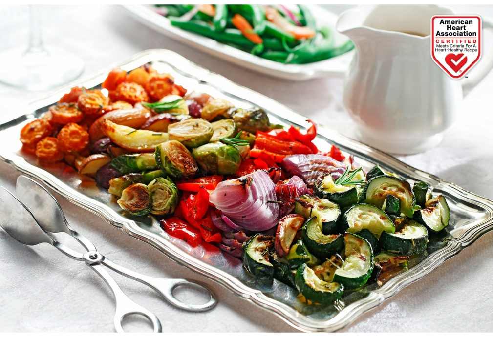 Roasted Winter Veggies and Tri-Colored Potatoes recipe made with canola oil by Manuel Villacorta