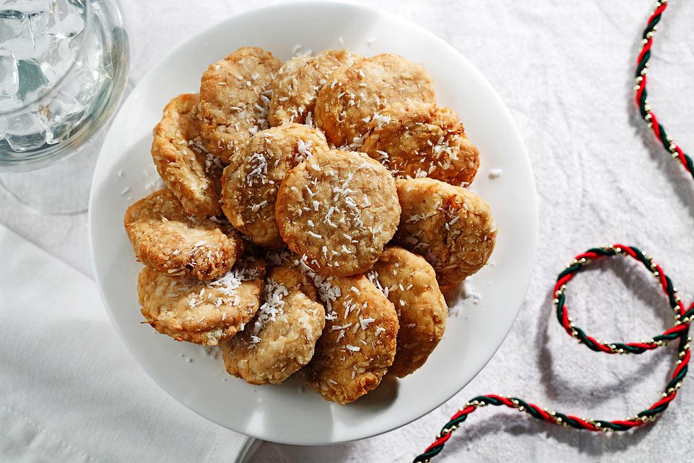 Tortitas de yuca y coco